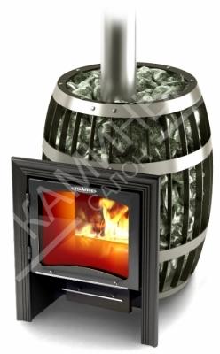Банная печь Саяны Inox Витра