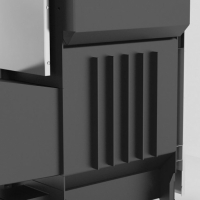 Газо-дровяная печь для бани Костёр-Поток 18