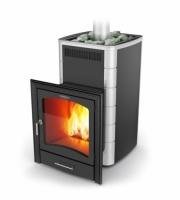 Банная печь Калина Carbon БСЭ антрацит НВ ПРА