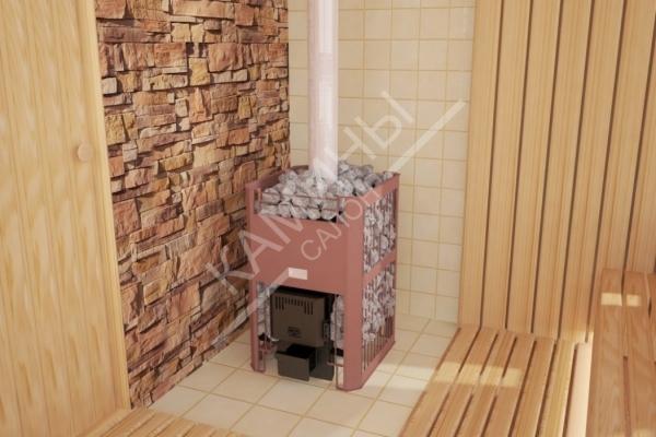 Печь для бани и сауны Бугринка 16ТУ